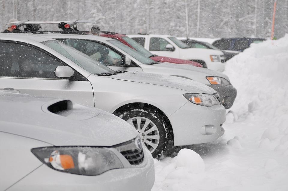 vinter bil